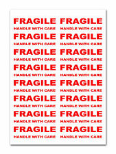 160 - FRAGILE - Handle with care Labels Large Stickers