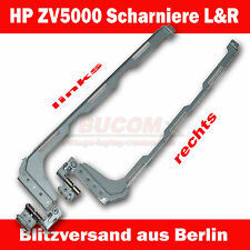 "HP Pavilion zv5000 zv5100 zv6000 zx5000 LCD Hinge 15,4"" display Cerniere L + R"