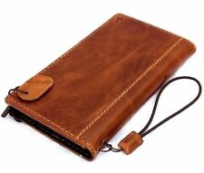 genuine vintage real leather Case for apple iphone 6  6s book wallet cover slim