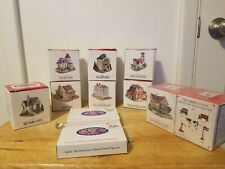Liberty Falls Miniature Hand Painted Pewter Accessories Boxes Lot