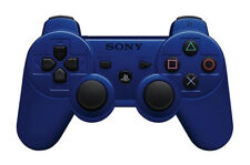 Dualshock 3 for Sony PlayStation 3 Wireless Controller  Metallic Blue