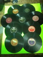 """Lot Of 100, 10"""" 78 RPM Records-Various Labels/Genres From 1913-1958"""