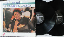 ELLA FITZGERALD - The Irving Berlin Songbook, 1986 Verve 829-533-1; 2xLP G'fold