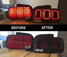 2005-2009 Mustang Tail light conversion (2013+ Style) Sticker Decal Set 05-09