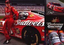 SPORTS POSTER~Dale Earnhardt Jr. Nascar Budweiser Collage Racing Ritz Sponsors~