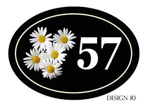 House,door,caravan name or number New Oval Range Plaque/sign PERSONALISED FREE