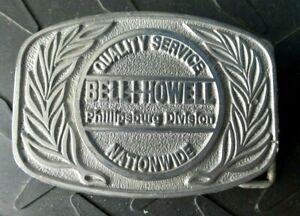 VINTAGE BELL & HOWELL PHILLIPSBURG DIVISION NEW JERSEY BELT BUCKLE MFG C&D HIT