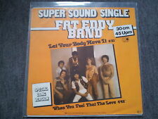 Fat Eddy Band - Let your body move it 12'' Disco Vinyl