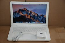 "Apple MacBook White 13"", A1342, NEW 500GB HDD Intel 2.26GHz 2GB Ram macOS Sierra"