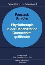 Physiotherapie In Der Rehabilitation Querschnittgel?hmter (rehabilitation Und...