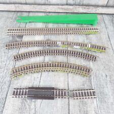 FLEISCHMANN - Spur N - 9 tlg. Schienen-Konvolut aus Anlagenrückbau - #E16186
