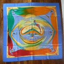 FOULARD CARRÉ HERMÈS Soie - Smiles in Third Millenary - Kwumi Sepedin