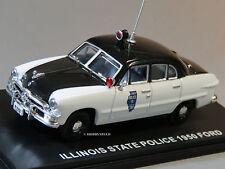 MTH 1:43 DIE-CAST 1950 FORD 4 DOOR SEDAN STATE POLICE CAR 30-50086 UNCATALOGED