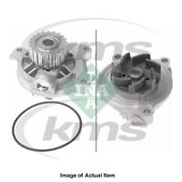 New Genuine INA Water Pump 538 0045 10 Top German Quality