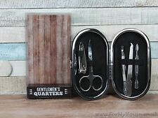 Gentlemen's quarters manicure set gift dad husband