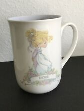 "Precious Moments ""Diane� Coffee Mug. New. Never Used. No Box."