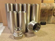 """5 inch stove pipe 12"""" Stainless Steel  Liner"""