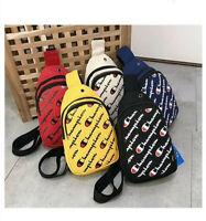 Champion Crossbody Canvas Bag New Style-Free Shipping
