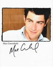 MAX GREENFIELD AUTOGRAPHED 8X10 PROMO PHOTO SIGNED