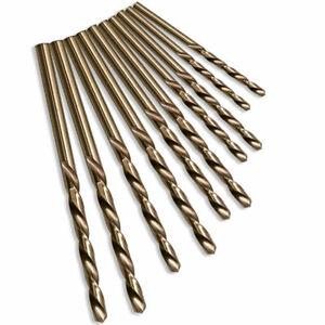 HSS Co Cobalt Drill Bits 1 - 13mm Jobber Twist Drills Stainless Steel Metal Wood