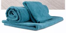 NORWEX 3 PC Set of teal bath mat, body cloth & teal bath towel  NEW