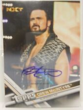 2017 Topps WWE Then Now Forever Drew Mcintyre SP Autograph Insert Card # 36 / 99