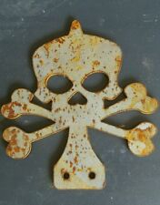 Rust skull and crossbones vw RAT LOOK Car Van Camper Patina Rust Vintage ratrod