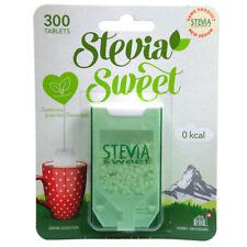 Hermesetas Stevia Sweet 300 Tablets Calorie & Carbohydrate Free Sweetener