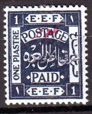 Trans jordan, 1922, SG.# 31b, CV$500 scarce, MH *
