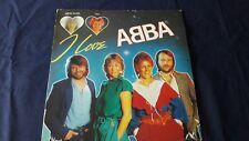 abba / I  love abba / 33 tours