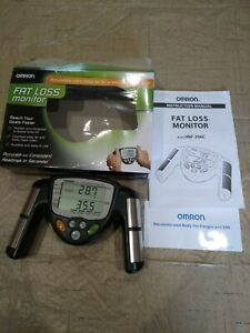 Omron HBF-306C Fat Loss BMI Monitor Tracker Black TESTED Working, New open box
