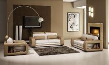 Sofagarnitur Polster Sofa Couch Leder Garnitur Wohnlandschaft 3+2+1 Davos Neu !!
