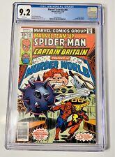 🔥🔥 MARVEL TEAM-UP #66 - CGC 9.2 - WP - Spider-Man / Captain Britain