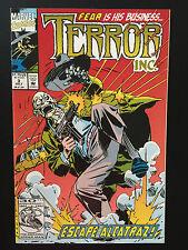 Box 25c, Comic Marvel, Terror Inc, # 3 July, Escape From Alcatraz