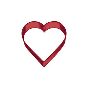 Wilton Red Heart Metal Cutter, 3""