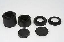 Rollei Zwischenringsatz je 1x 7,8 / 15 / 30 und 50mm für Rollei KB