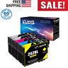 NEW EPSON 252XL WORKFORCE INK CARTRIDGES WF-7710 WF-7720 UniWORK 5 Pack 2 BLACK