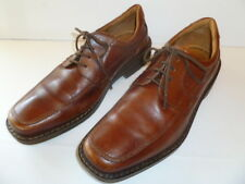 Ecco Mens Shoes Brown Leather EU size 41, US size 8, Breathable comfort