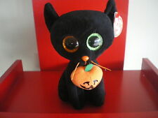 Ty Beanie Boos SHADOW the cat  6 inch NWMT.  BRAND NEW - LIMITED QUANTITY.