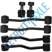 1999-2003 2004 Jeep Grand Cherokee Lower Ball Joint Front & Rear Sway Bar Kit