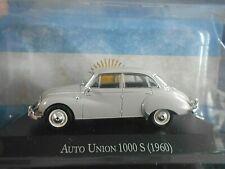 AUTO UNION DKW Audi 1000 S 1000S creme 1960 Argentina Atlas IXO Altaya SP 1:43