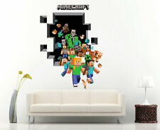 3D Large  Removable Mine Wall Stickers kids Vinyl Art Craft Decal 1