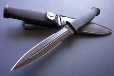 Free shipping New Abs Handle Boot Dagger Survival Fixed Bowie Hunting KnifeCmb25
