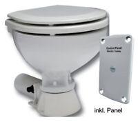 Bord WC Toilette elektrischer Pumpe 12V, Compact Becken Camping Boot