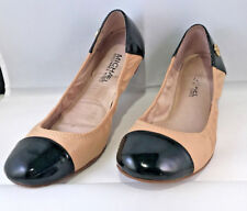Micheal Kors womens ballerina flats shoes size 6 brown tan