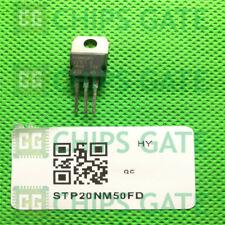 6PCS STP20NM50FD Encapsulation:TO220,N-CHANNEL 500V - 0.22ohm - 20A