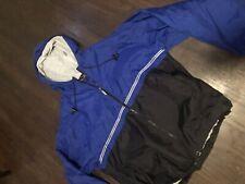 Vintage Footlocker Sports Jacket/coat Blue/black Mens XL With Black Tag
