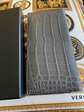 "Genuine Brand NEW Vertu Signature Touch 5.2"" Alligator STONE CC Case Very RARE"