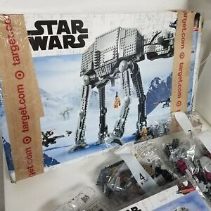 LEGO Star Wars at-at 75288 Building Kit, OPENED/DAMAGED BOX,MISSING PIECES