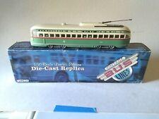 Model trains o scale chicago street car Corgi